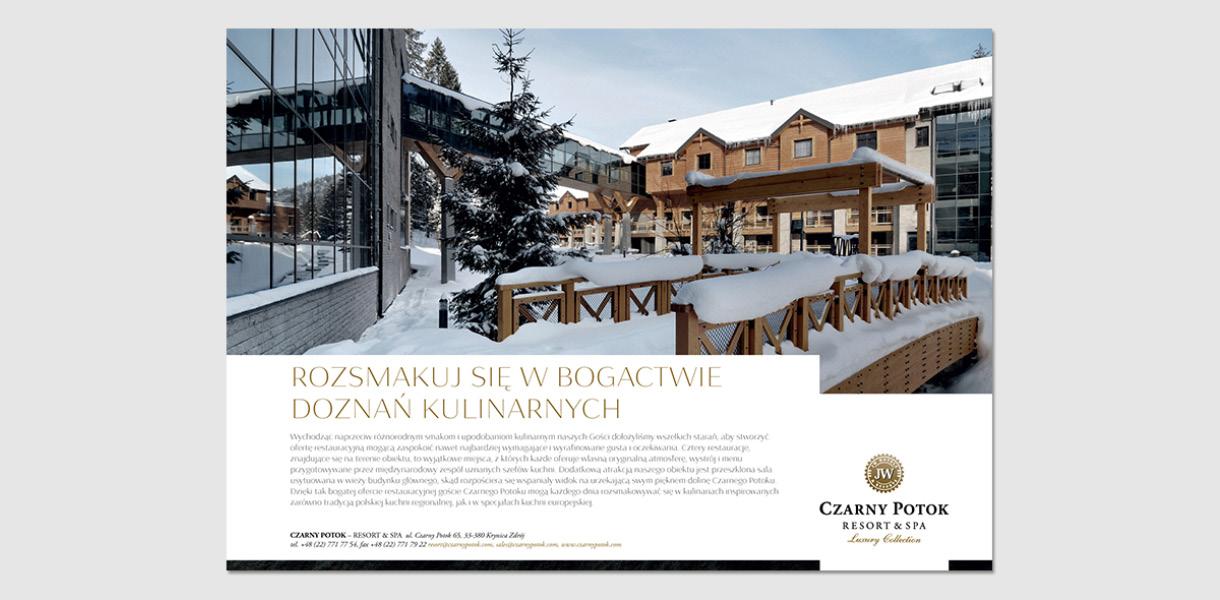 Czarny potok - leaflet