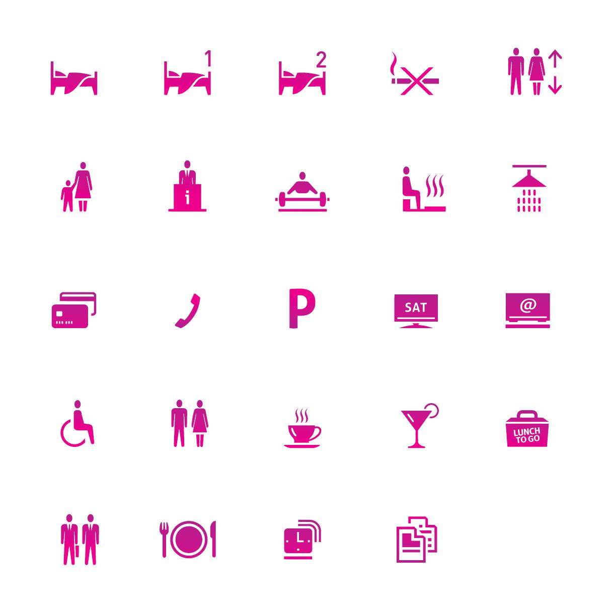 Focus Hotel - Icons