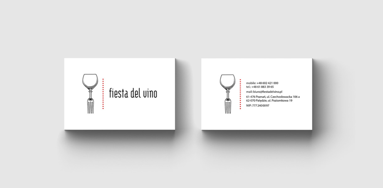 fiesta - business cards