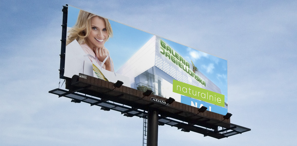 galeria jagielonska - billboard