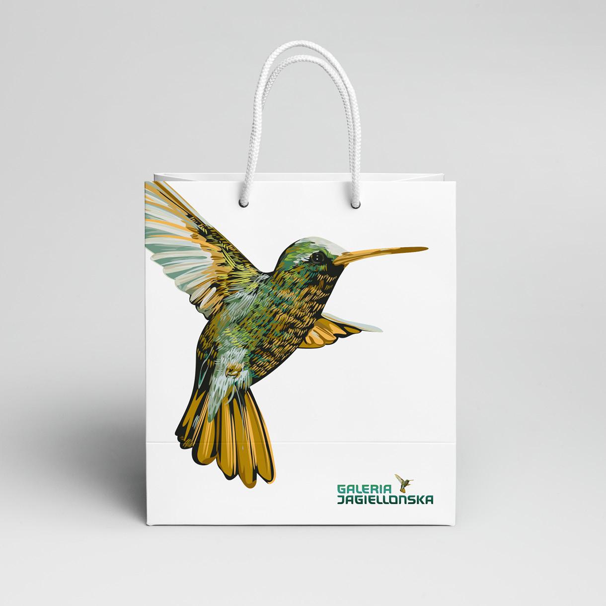 galeria jagielońska - paper bag
