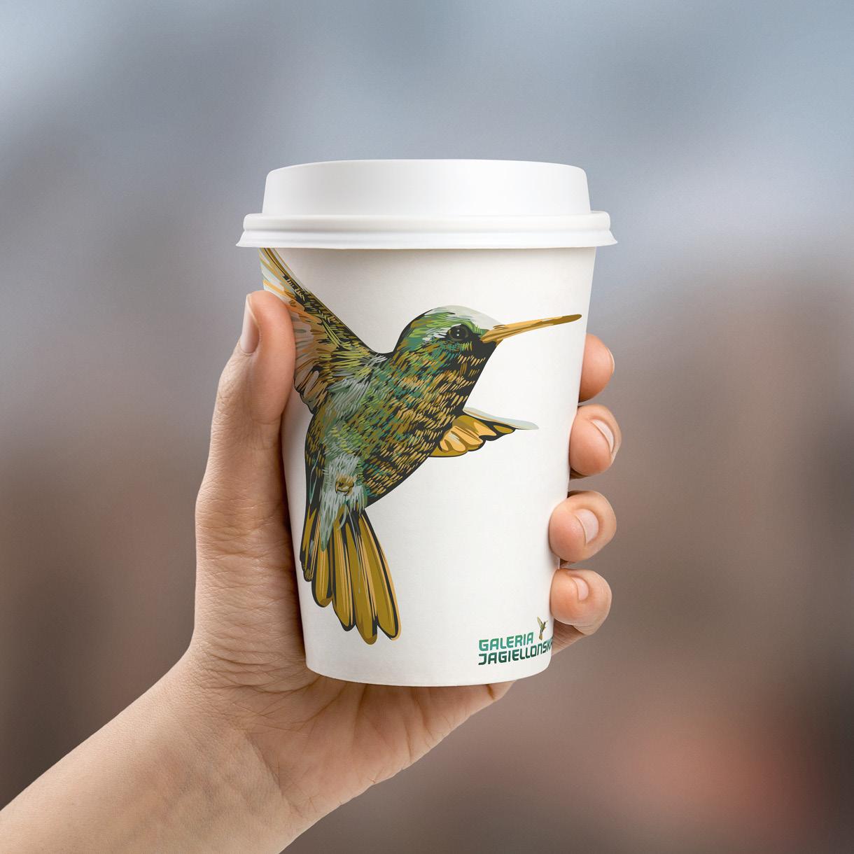 galeria handlowa - paper cup