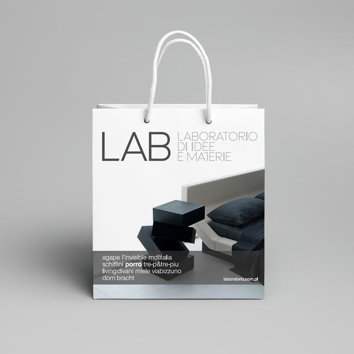lab - papper bag