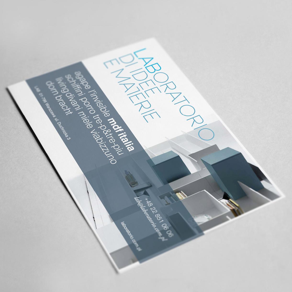lab - business card